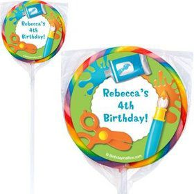 Art Personalized Lollipops (pack of 12)
