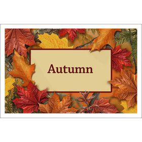 Autumn Leaves Personalized Placemat (Each)