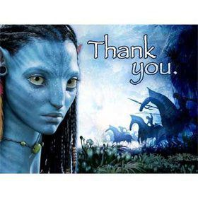 Avatar Thank You Notes (8-pack)