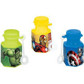 Avengers .6 Mini Bubble Favors (12 Pack)