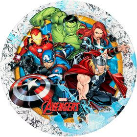 "Avengers 9"" Lunch Plate (12)"