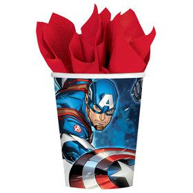 Avengers 9oz. Cups (8 Pack)