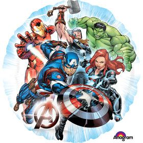 "Avengers Assemble 18"" Balloon (Each)"