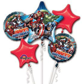Avengers Balloon Bouquet (Each)