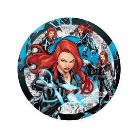 "Avengers Black Widow 7"" Dessert Plate (12)"