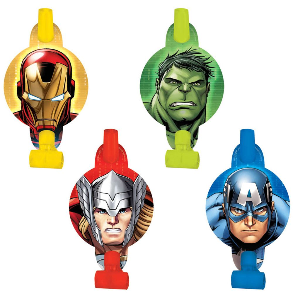 Avengers Blowouts (8 Pack) BB331354