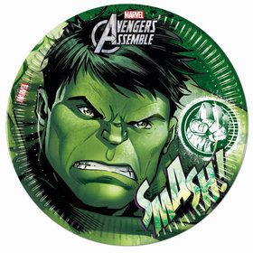 """Avengers Hulk 9"""" Lunch Plates (8 Count)"""
