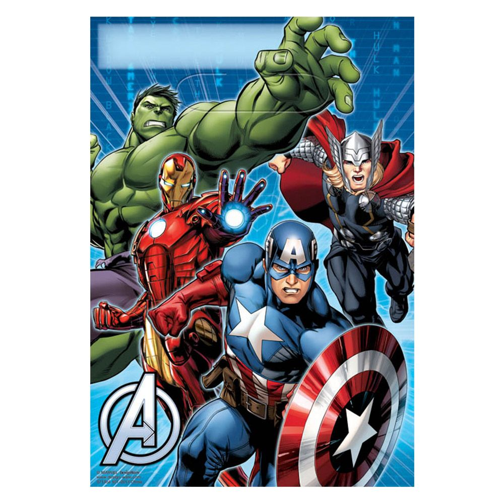 Avengers Lootbags (8 Pack) - Party Supplies BB371354