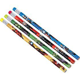 Avengers Pencil Favors (12 Pack)