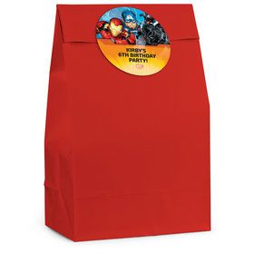 Avengers Personalized Favor Bag (12 Pack)