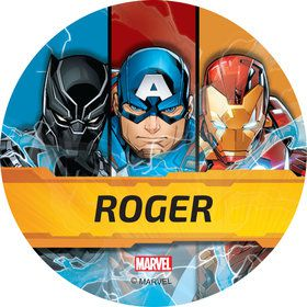 Avengers Personalized Mini Stickers (Sheet of 24)