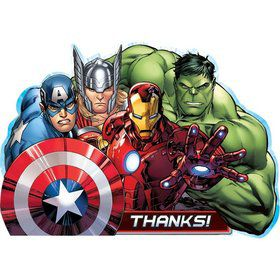 Avengers Postcard Thank You Card (8 Pack)