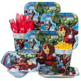 Avengers Standard Tableware Kit Serves 8