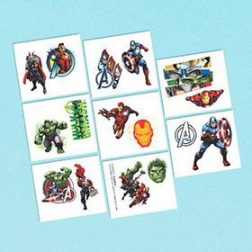 Avengers Tattoo Favors (16 Pack)
