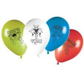 Avengers Team Power Balloons (8)