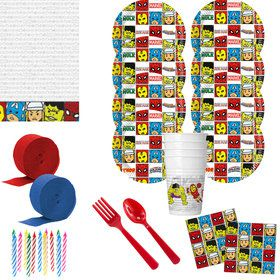 Avengers Team Power Deluxe Tableware Kit (Serves 8)