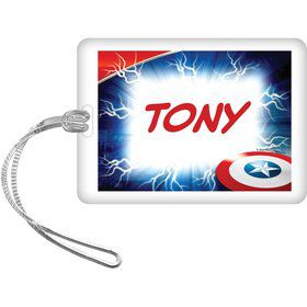 Avenging Heroes Personalized Bag Tag (Each)