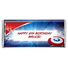 Avenging Heroes Personalized Candy Bar Wrapper (Each)