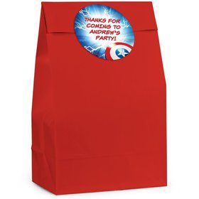 Avenging Heroes Personalized Favor Bag (Set Of 12)