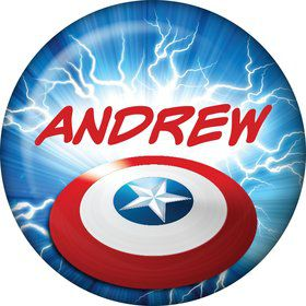 Avenging Heroes Personalized Mini Button (Each)