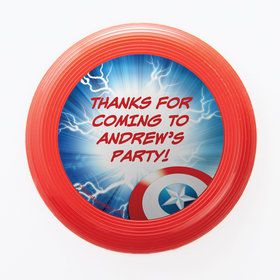 Avenging Heroes Personalized Mini Discs (Set of 12)
