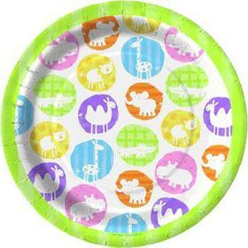 Baby Animals Dinner Plates (8-pack)