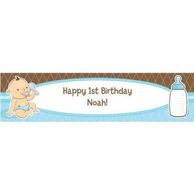 Baby Boy Personalized Banner (each)
