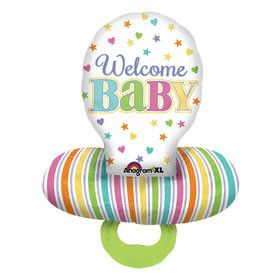 Baby Brights Pacifier Balloon (Each)