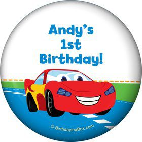 Baby Cars Too Personalized Magnet (Each)