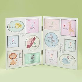 Baby Collage Frame- Hinged - My First Year