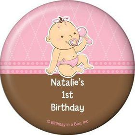 Baby Girl Personalized Magnet (each)
