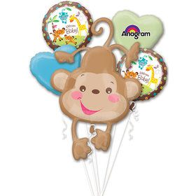 Baby Jungle Baby Shower Balloon Bouquet