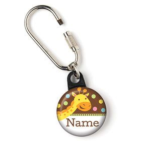 "Baby Jungle Personalized 1"" Carabiner (Each)"