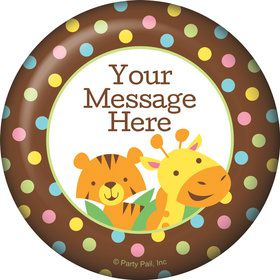 Baby Jungle Personalized Magnet (Each)