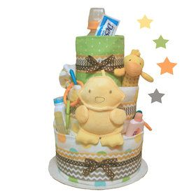 Baby Love Ducky Diaper Cake