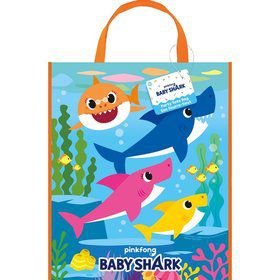 "Baby Shark 13""x11"" Tote Bag"