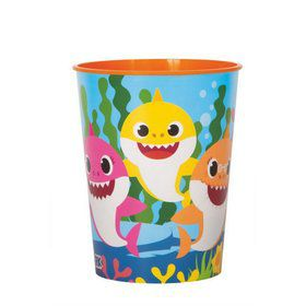 Baby Shark 16oz Plastic Favor Cup (1)