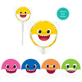 "Baby Shark 2"" Lollipops"