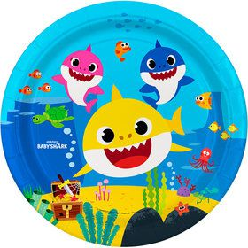 "Baby Shark 9"" Lunch Plates"