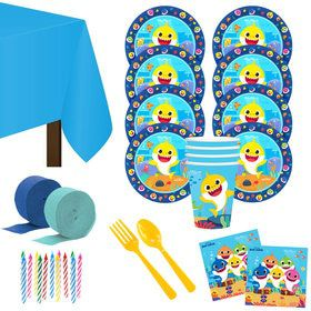 Baby Shark Deluxe Tableware Kit (Serves 8)