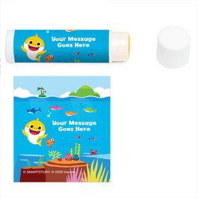 Baby Shark Personalized Lip Balm