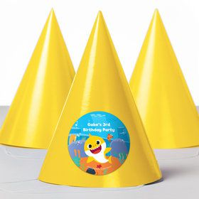 Baby Shark Personalized Party Hats