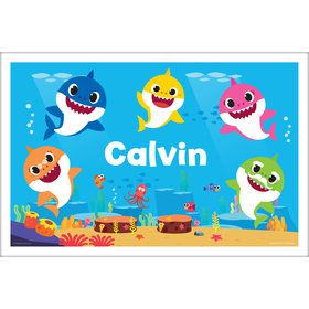 Baby Shark Personalized Placemat