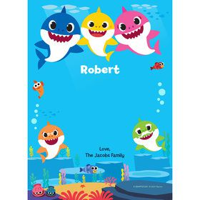 Baby Shark Personalized Thank You