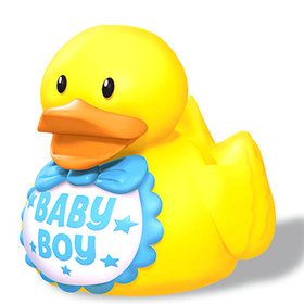 Baby Shower Baby Boy Blue Duck Favors (3 Count)