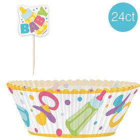 Baby Shower Cupcake Kit (24 Count)