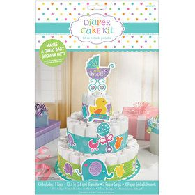Baby Shower Diaper Cake Kit