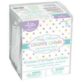 Baby Shower Diaper Game Kit (Each)
