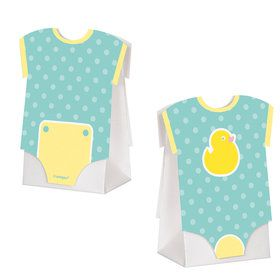 Baby Shower Duckie Favor Boxes (8 Count)