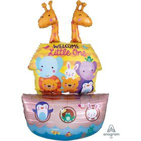Baby Shower Noahs Ark 43 Jumbo Shaped Foil Balloo